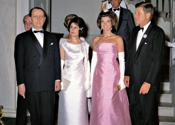 Jackie John Kennedy André Malraux