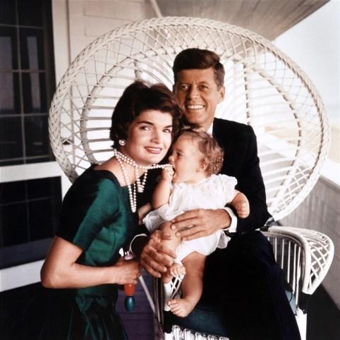 Jackie John Kennedy Famille