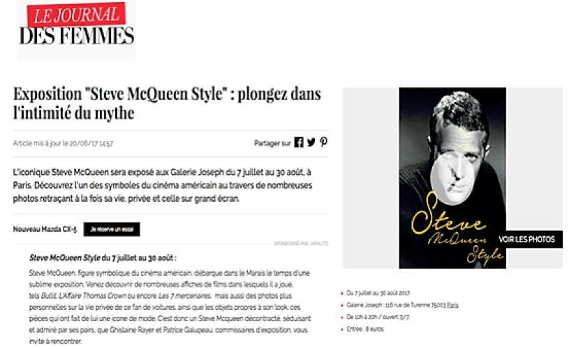 Steve McQueen Journal des Femmes