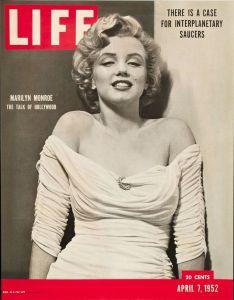 Marilyn en couverture de Life Magazine