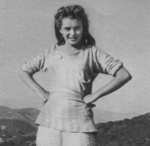 Marilyn Monroe au Lake Sherwood en 1942