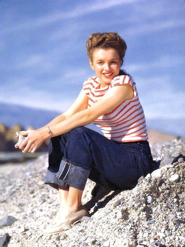 Marilyn Vallée de la Mort 1945