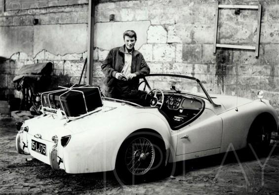 1961 Johnny Hallyday-Display-productions.com- -TR-3-Garage