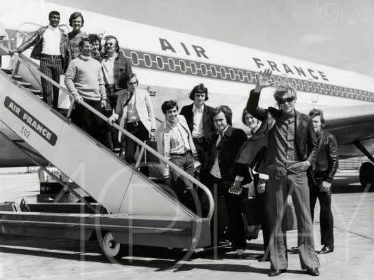 1970' Johnny Hallyday-Display-productions.com- Air France