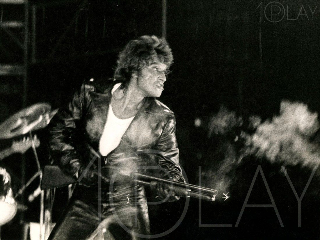 1976 Johnny Hallyday-Display-productions.com- Coup de Fusil