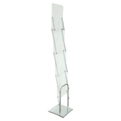 Acrylic Magazine Holder Stand Portable