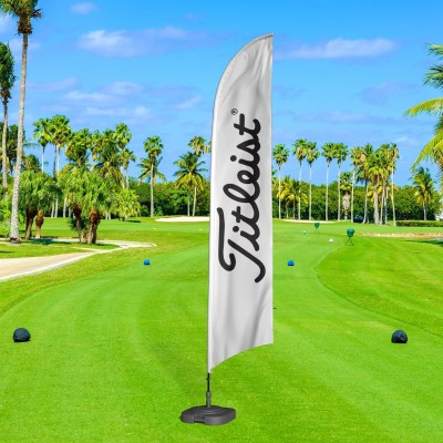 Titleist Feather Flag for Golf Tournaments