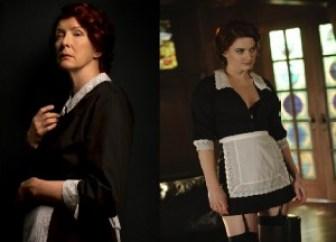 Old School und New School Haushälterin Moira