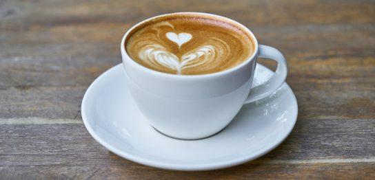 ハートマークのコーヒー