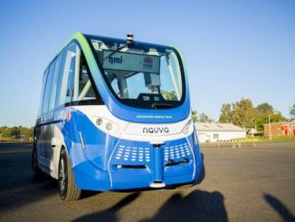 telstra driverless shuttle