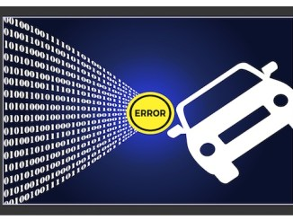 self-driving car error