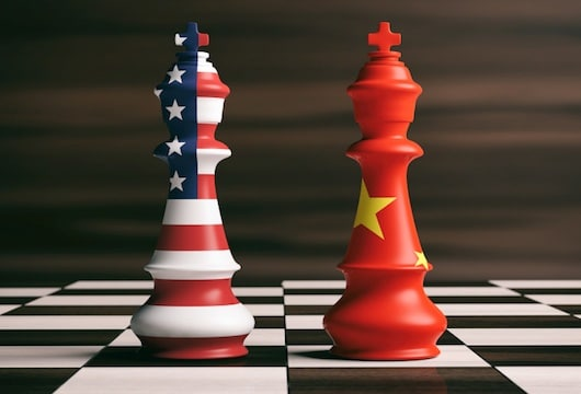US china trade war faceoff