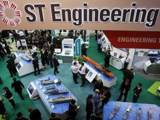 ST engineering singapore lamppost smart