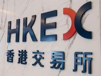blockchain HKEX shares
