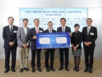 HKT ASTRI smart city joint laboratory