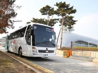 KT 5G bus
