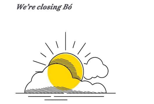 Bó bank closure
