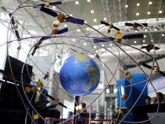 Chinese Beidu GPS satellite navigation