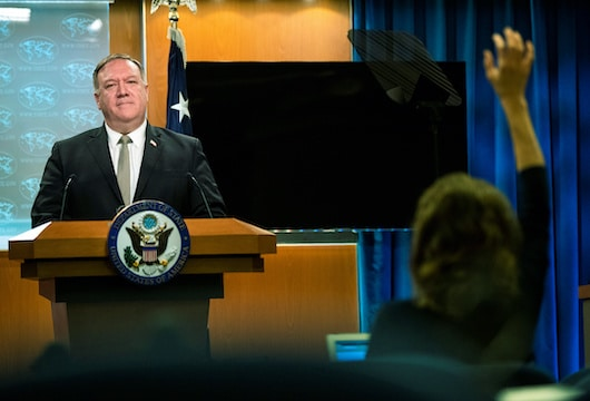 US 'certainly looking at' banning Chinese social media apps – Pompeo