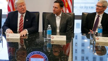 Silicon Valley tech elite meet with President-elect Trump