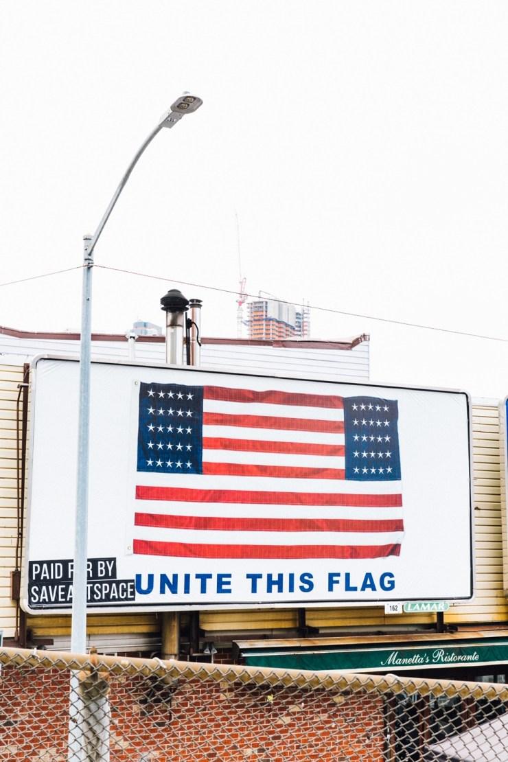 "Mel Chin ""Flag of America 2020"""