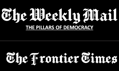 THE WEEKLY MAIL & THE FRONTIER TIMES