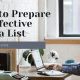 How to prepare an Effective Media List