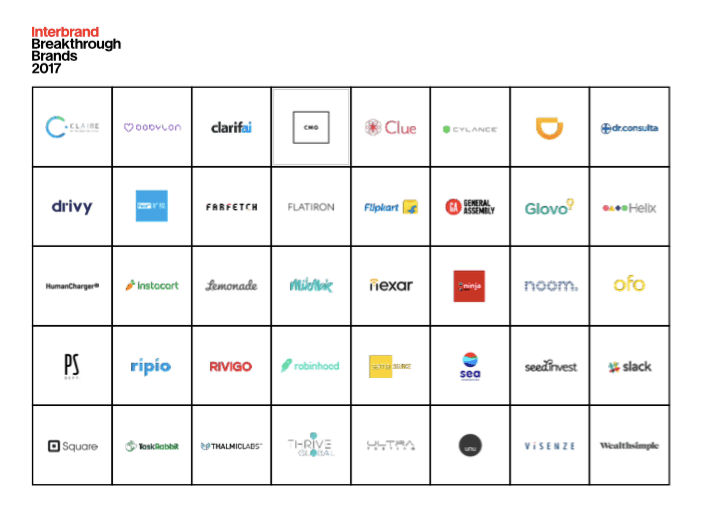 2017 Interbrand Breakthrough Brands [Report] - Innovation Excellence