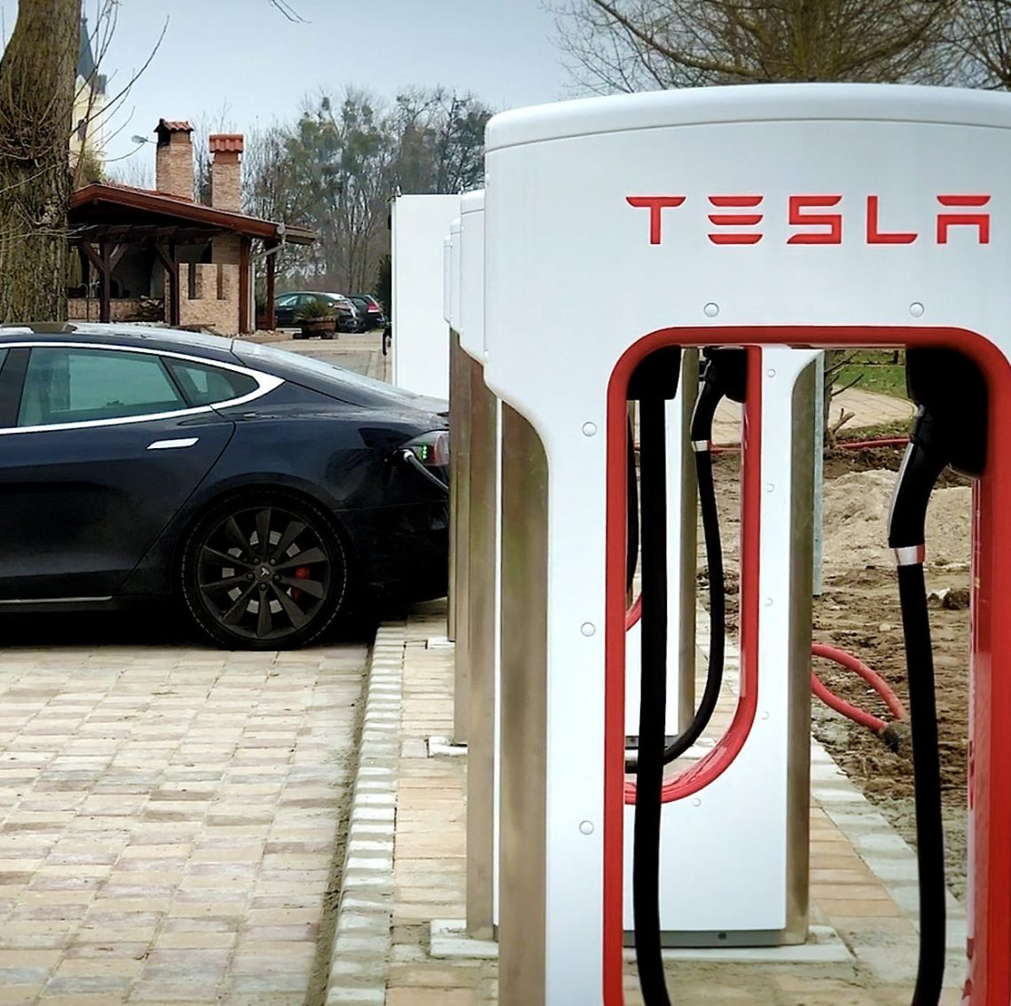 tesla superchargers get supercharged