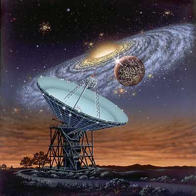 SETI search for alien life