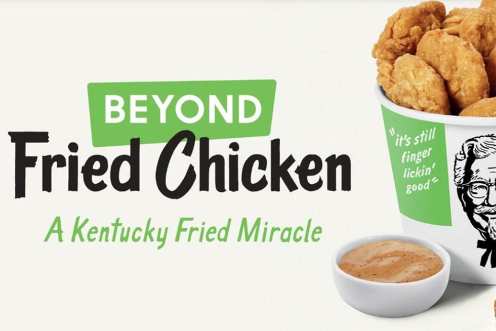 kfc beyond meat