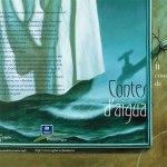 Portada/Contraportada desplegada del llibre del II Concurs de Contes de l'Aigua