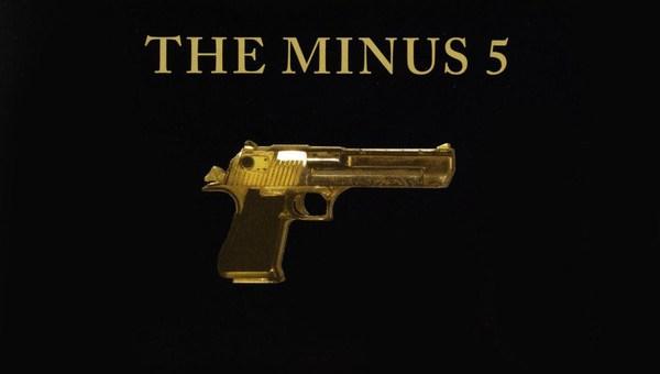 The Minus 5 self-titled gun album cover