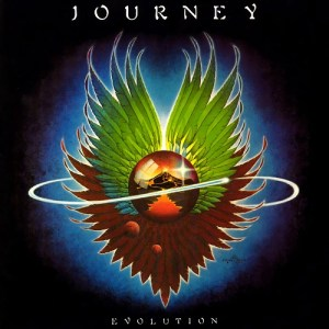 Album cover: Evolution by Journey
