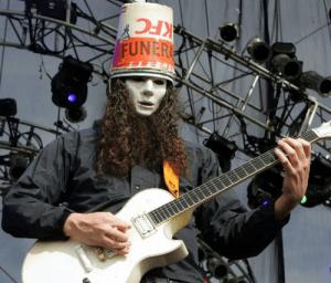 Buckethead playing live
