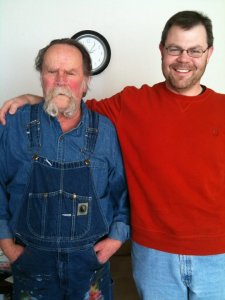 Me with my dad (Ron Brockmeier) in 2011