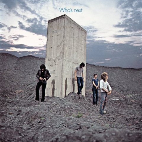 "Album cover ""Who's Next"" by The Who"