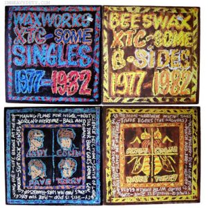 Album covers: XT Waxworks and B-Sides