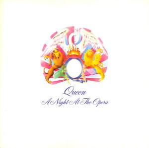 """A Night at the Opera"" album cover"