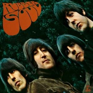 """Rubber Soul"" album cover"