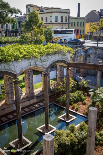Paddington Reservoir - below street level