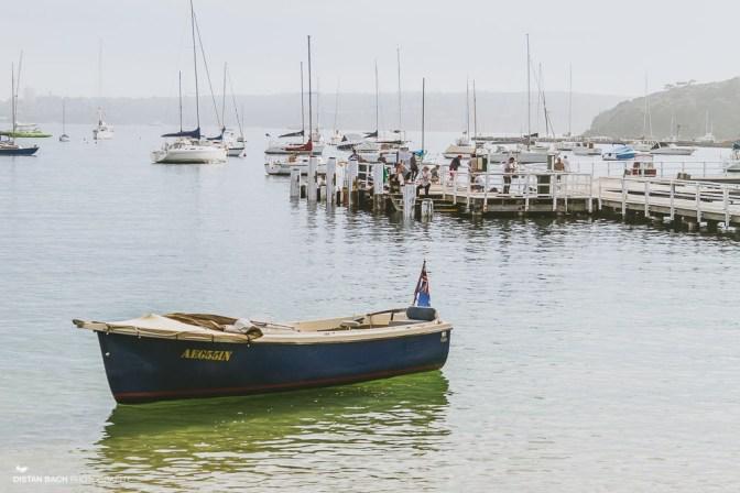 Boats and pier at Balmoral