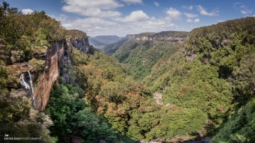 Fitzroy Falls pano (actual colour)