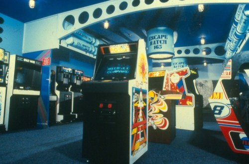 old school arcade
