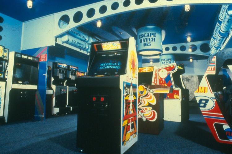 old school arcade