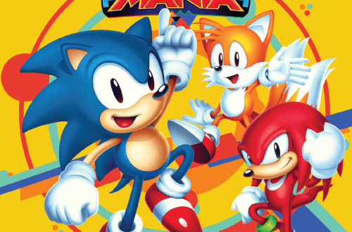 Sonic Mania cover