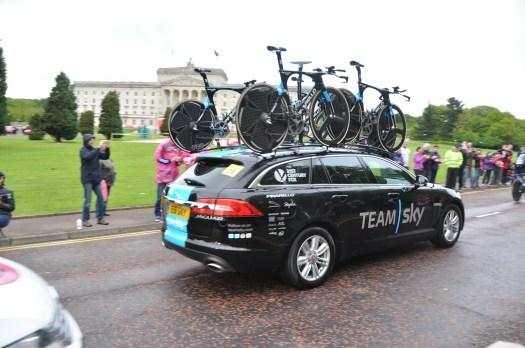 Car for Team Sky