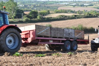 potato trailer