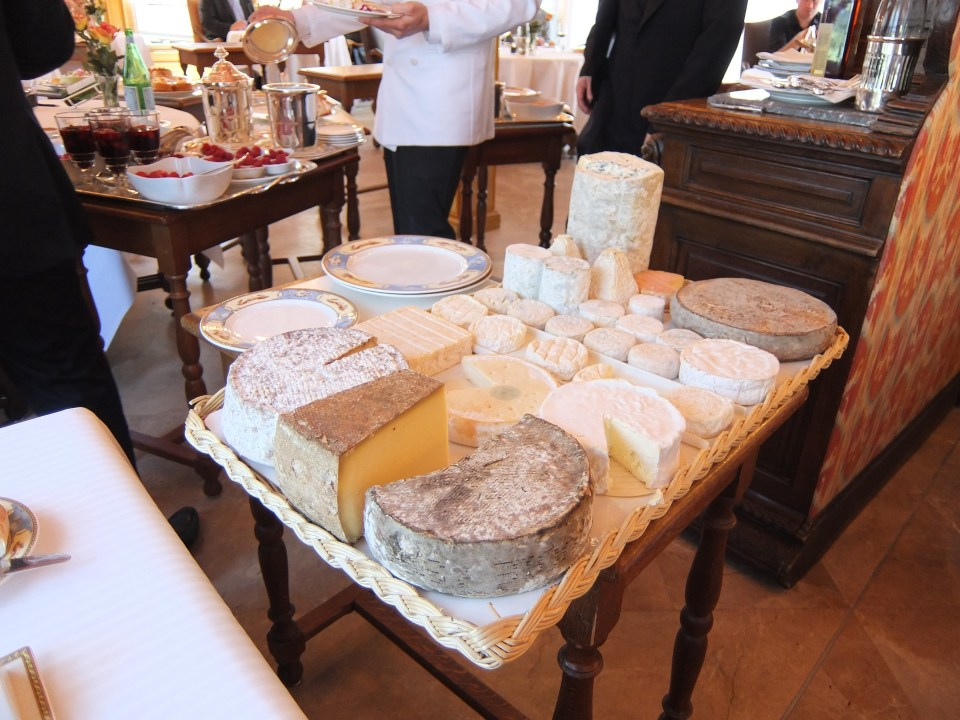 Most difficult cheese decision ever - at Paul Bocuse