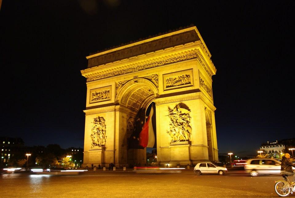First visit to Paris Distant Francophile